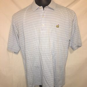 Masters Collection Blue Mens Polo Shirt Size XL